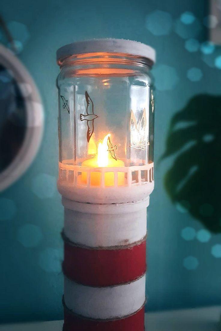 Leuchtturm Aus Chipsdose Basteln Maritime Bastelidee Basteln Aus Bastel In 2020 Diy Decor Diy Anniversary Wooden Diy