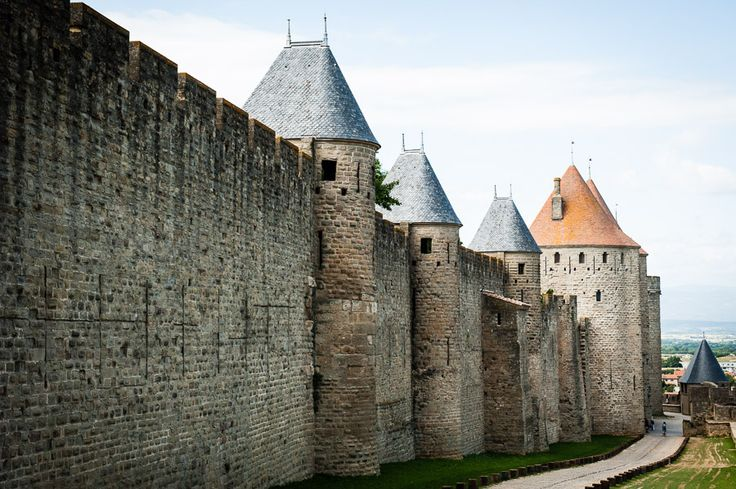 Medieval cite of Carcassone, France