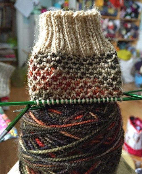 Meias De Ponto De Sementes Quebradas - Padrão Livre (Belas Habilidades - Crochet Knitting Quilting)