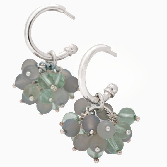 Olive Earrings by SaarikorpiDesign on Etsy, €110.00