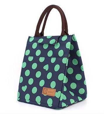 2016 Portable Thermal Bag Women / Men Lunch Bag Cooler Lunch Box Lady Handbag…