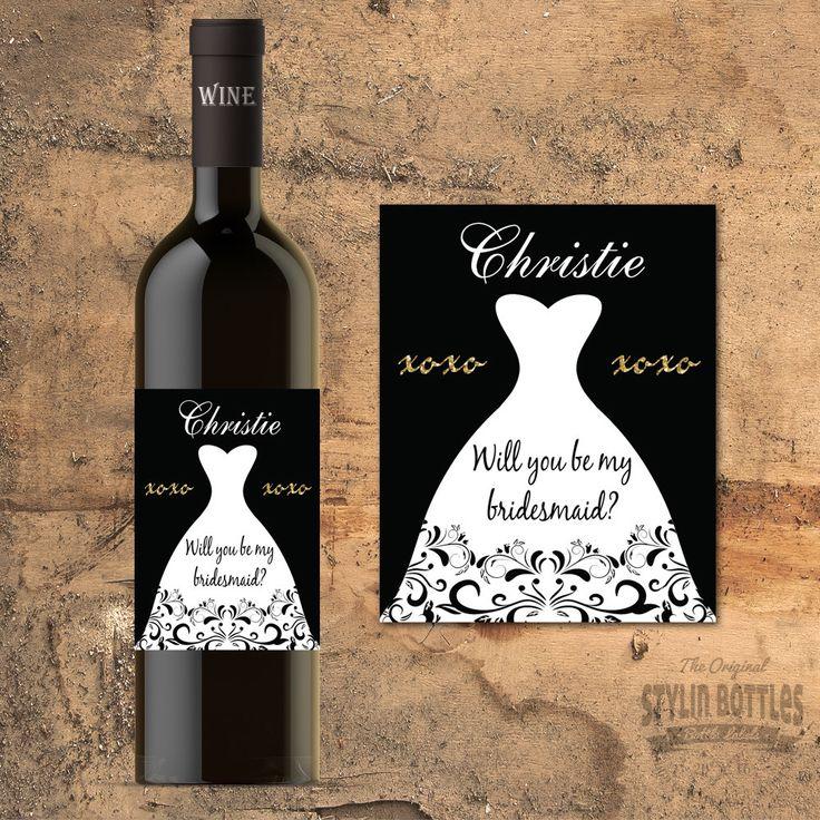 Bridal Shower Wine Labels Wine Bottle Labels