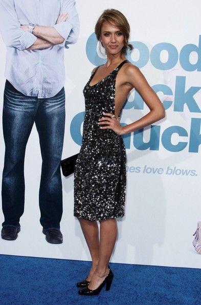 """Jessica Alba Photos Photos - Actress Jessica Alba arrives at the Los Angeles premiere of Lion's Gate Films' 'Good Luck Chuck' held on September 19, 2007 in Los Angeles, California. - Lionsgate's LA Premiere Of """"Good Luck Chuck"""" - Arrivals"""