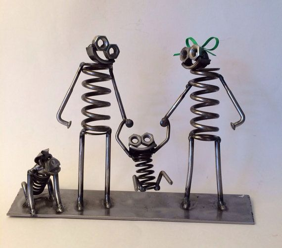 Hey, I found this really awesome Etsy listing at https://www.etsy.com/listing/190113415/metal-art-boogie-family