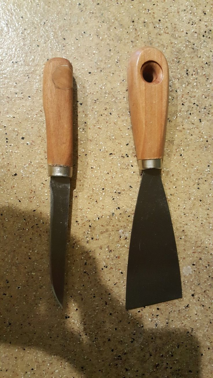 Another putty knife transformation!