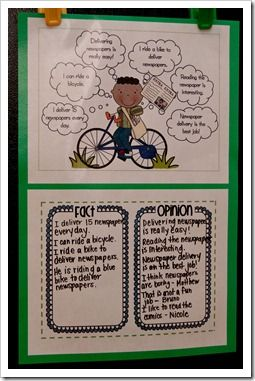 fact vs. opinion activityCenter Ideas, Reading Anchor Charts, Facts And Opinion Activities, Languages Art, Facts Opinion Check, Teachers Stuff, Reading Anchors Charts, Art Facts, Opinion Schools