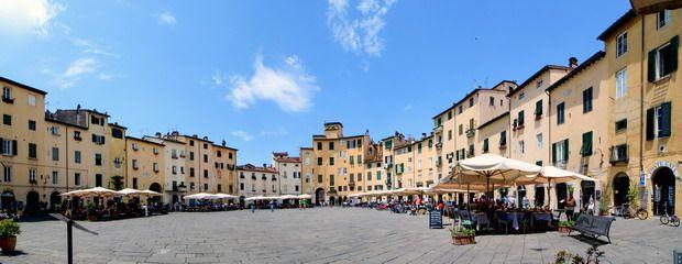 Lucca, la gran ciudad desconocida de la Toscana.