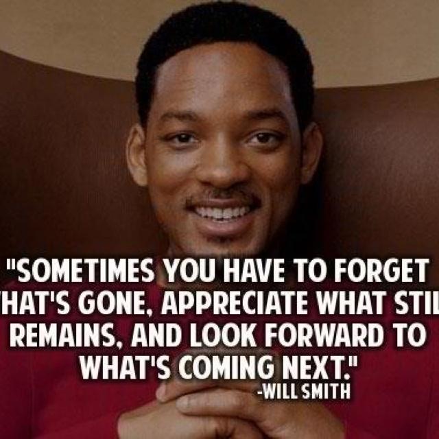 Be grateful, not regretful!