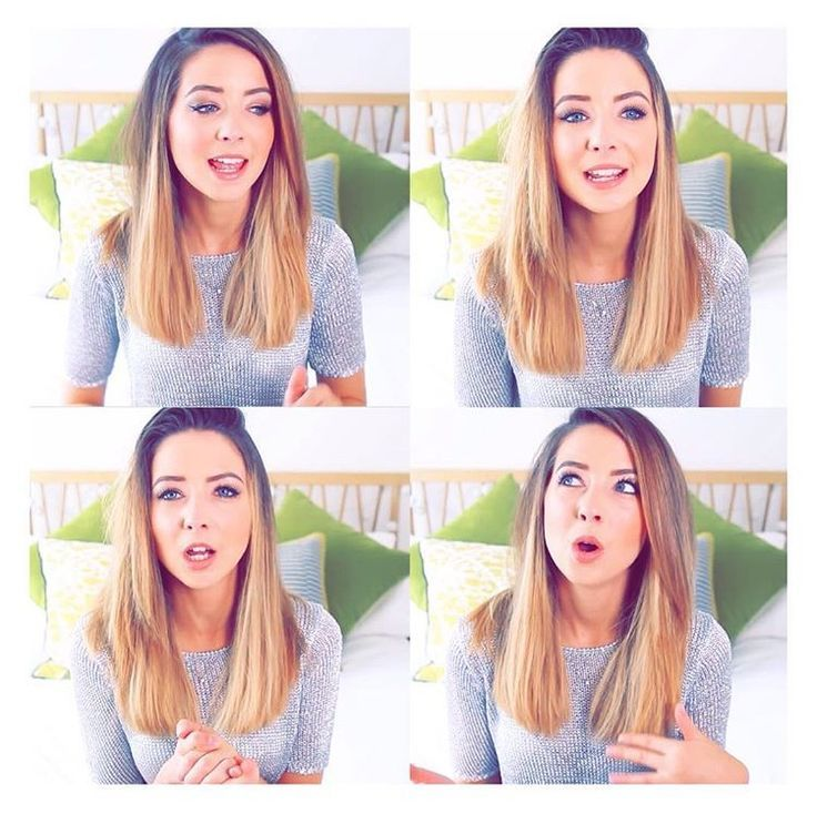 Zoella's hairstyle