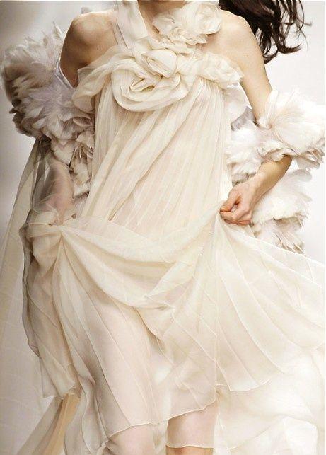 flowing wedding dress - Sonia Rykiel