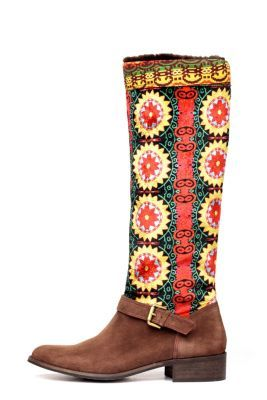 Desigual women's Tala boots from the Desigual by L range, available in leather and made in Spain. Superb quality! Heel height: 3.5 cm. / 1.4