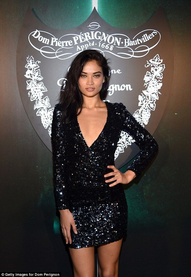 Sexy lady: Shanina was the fifth Australian stunner to appear for the luxe lingerie line when she first made her appearance at age 20
