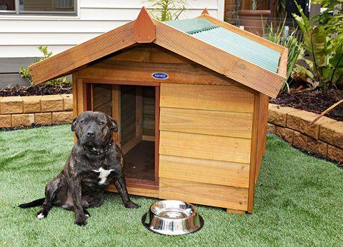 Aarons Outdoor Living - Medium Dog Kennel, $315 (http://www.aaronsoutdoor.com.au/pet-houses/medium-dog-kennel/)