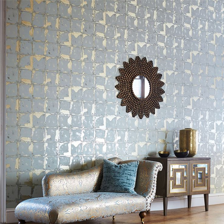 Welcome to Wallpaper Wednesday. This is Akoa, part of the Leonida Collection from Harlequin. Available in 5 neutral and pale colourways, perfect for living rooms.