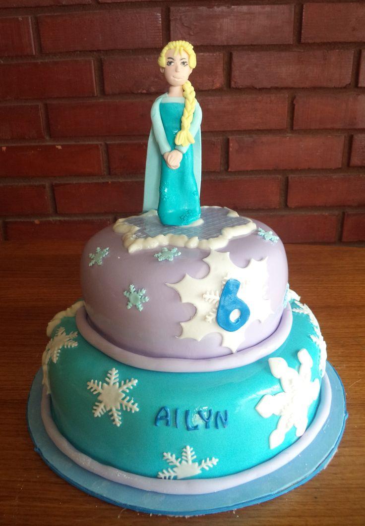 #Frozen #fondant #cake creada por Volovan Productos  Punta Arenas Chile