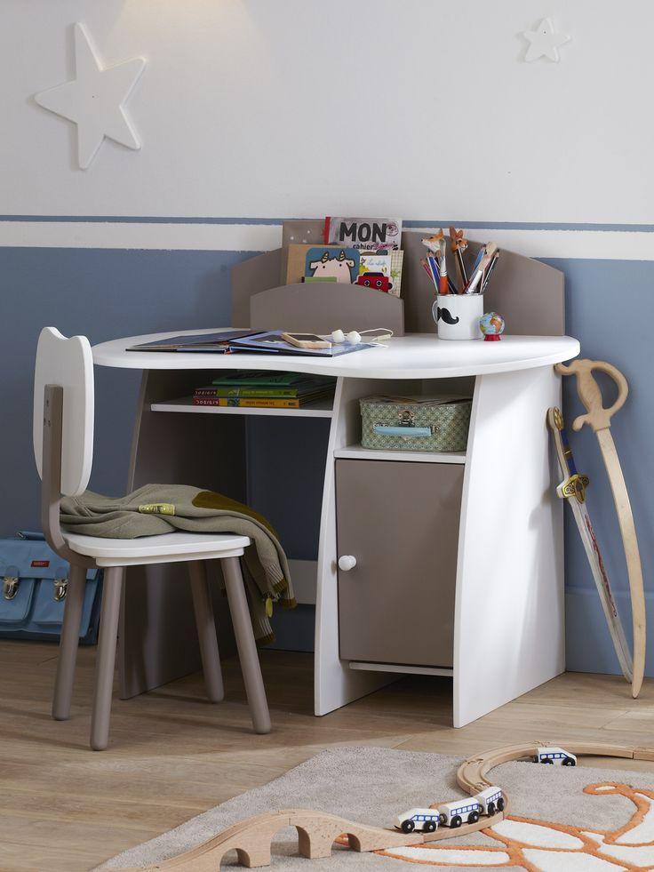 combin maternel bureau chaise casaburo bureaus kids rooms and room. Black Bedroom Furniture Sets. Home Design Ideas
