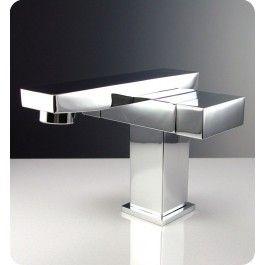 Fresca FFT1051CH Orba Single Hole Mount Bathroom Vanity Faucet - Chrome