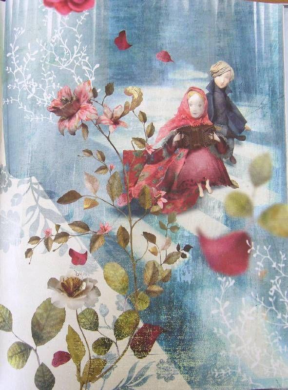 Иллюстрации Снежная королева (иллюстрации Мисс Клары) - Ханс Андерсен