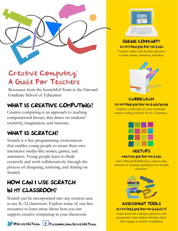 Creative Computing: A Guide For Teachers | ScratchEd