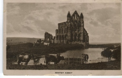Unknown British Publisher Postcard - Whitby Abbey