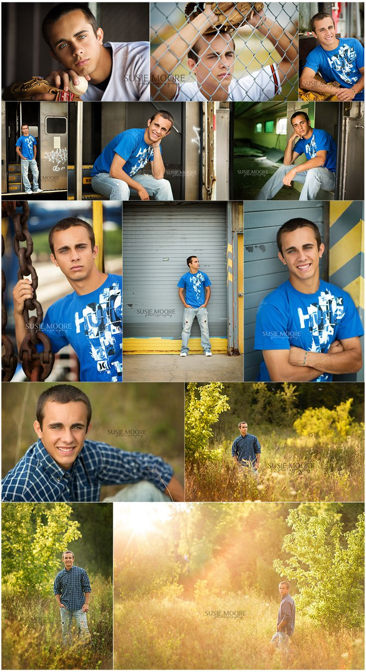 Susie Moore Photography | Senior Guy