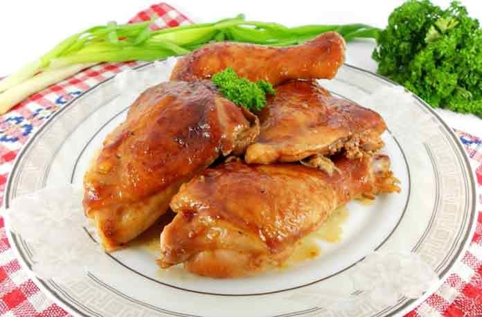 Запеченные куриные окорочка в духовке рецепт