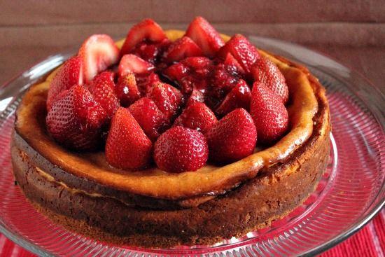 Strawberry Vanilla Bean Cheesecake | Sweets & Treats - Cakes, Cupcake ...