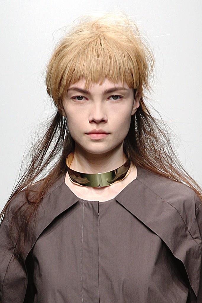 Beauty at New York Fashion Week: The Bowl Cut (A Détacher RTW Fall 2013)