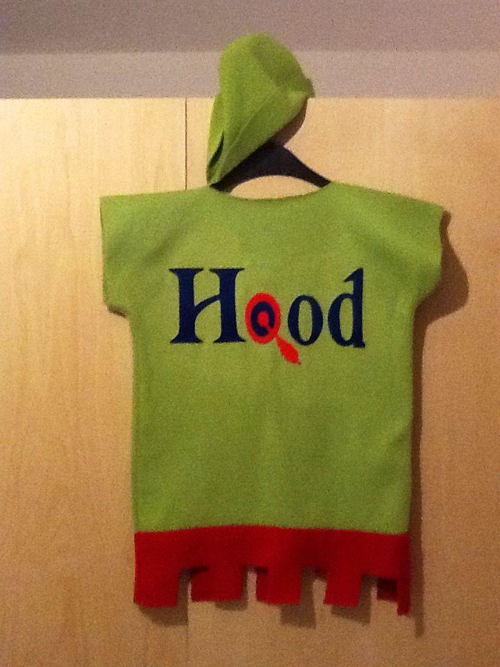 Robin Hood rugzijde