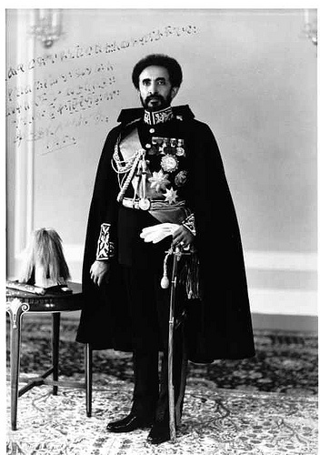 Haile Selassie I in Uniform
