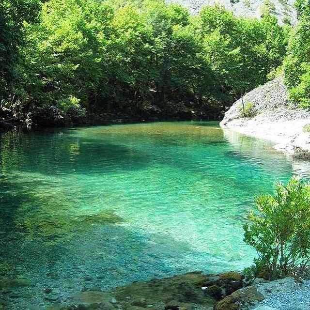Voidomatis River, Vikos - Greece.