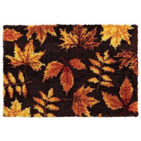 Autumn Leaves Latch Hook Kit Herrschners
