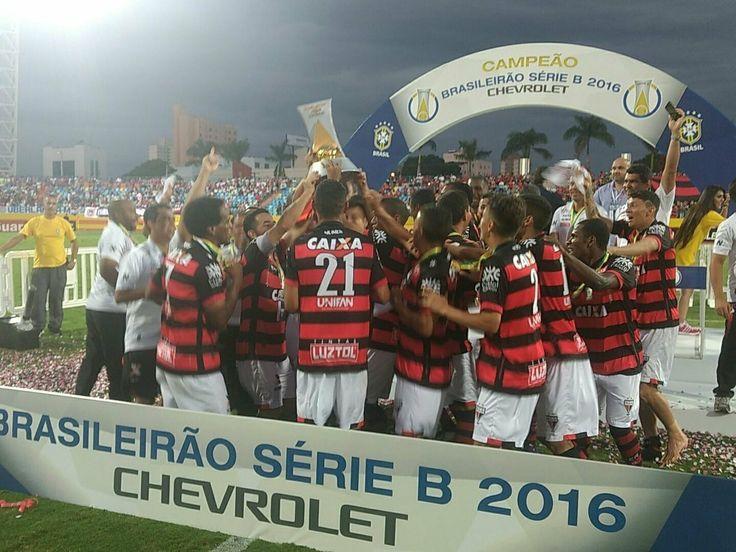 Parabéns ao Quatros clubes que subiram da Serie B para Serie A do Campeonato Brasileiro 2017 ! o Atlético Go Foi o Campeão ! 2° Vasco da Gama , 3° Avaí FC e 4° Bahia .