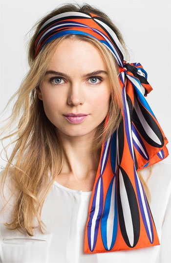 Echo 'Graphic Ovals' Silk Scarf available at Nordstrom