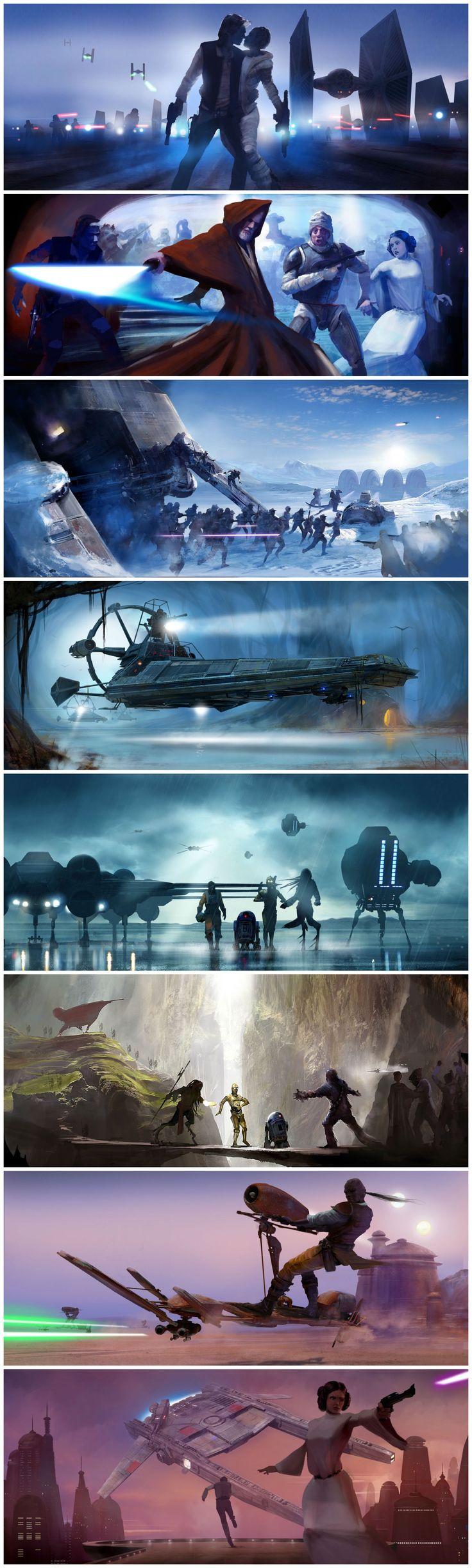 Star Wars // by Kris Turvey