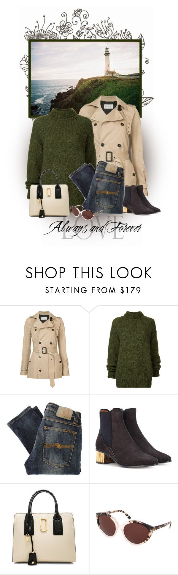 """""""Lighthouse"""" by seafreak83 on Polyvore featuring Yves Saint Laurent, I AM Studio, Nudie Jeans Co., Chloé, Marc Jacobs and Ted Baker"""