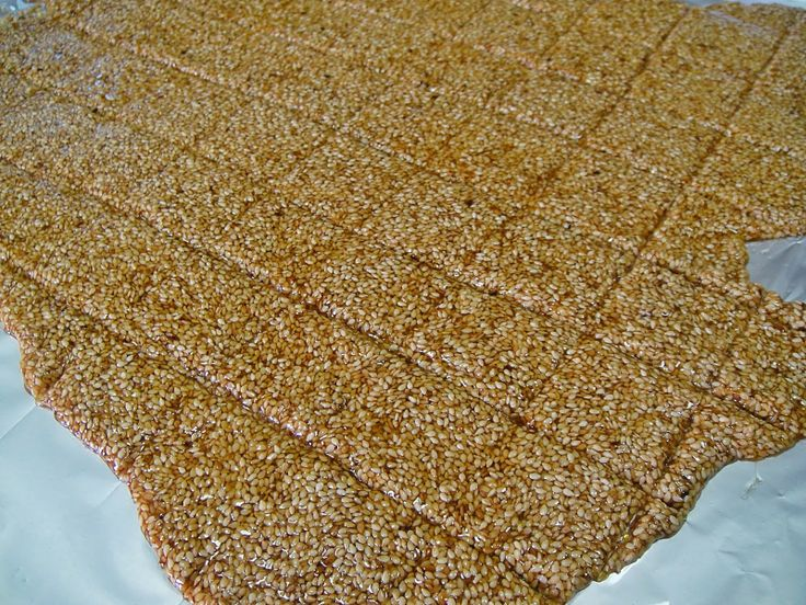 Maryam's Culinary Wonders: 575. Sesame Brittle
