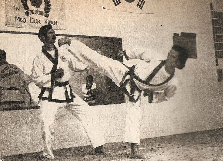Ted Mason, introduction in 1974. Demonstration; Tang Su Do in Argentina.