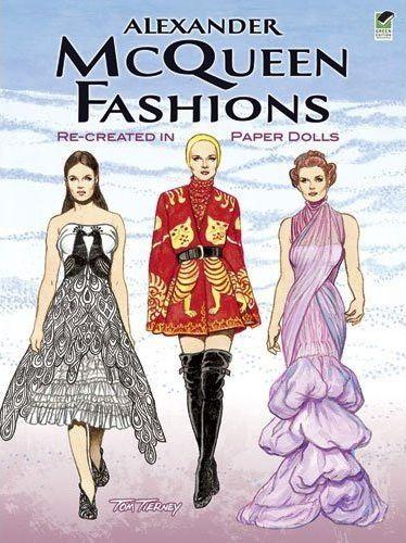 <3: Alexander Mcqueen, Dovers Paper, Gifts Ideas, Paper Dolls, Mcqueen Fashion, Dolls Dovers, Mcqueen Paper, Dolls Tribute, Toms Tierney