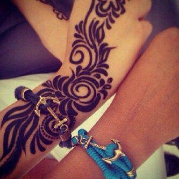 #modern #arabic #dubai #mehendi #heena #design