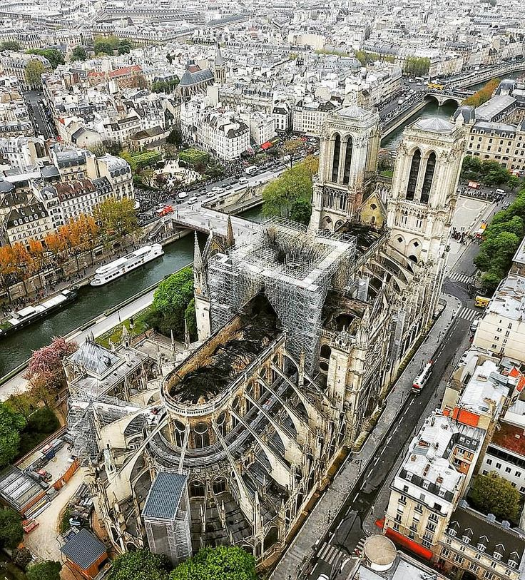 Bloodied but unbowed, Our Lady of Paris saved by divine intervention