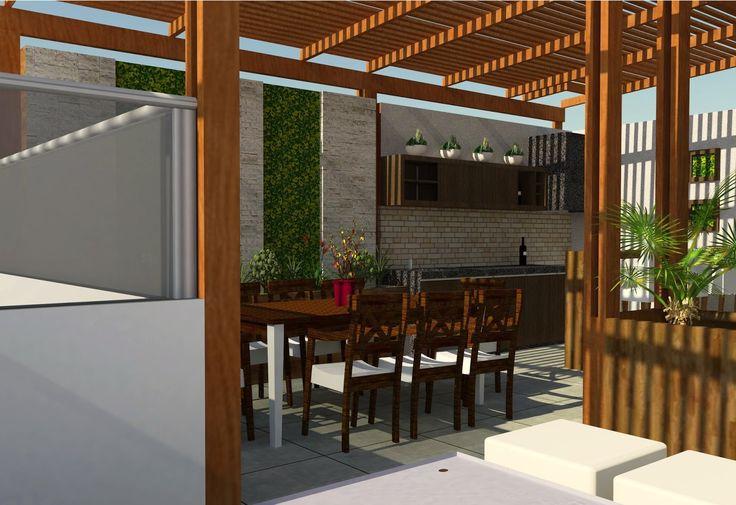 Nuevo proyecto de oniria arquitectura de terraza en los - Comedor de terraza ...