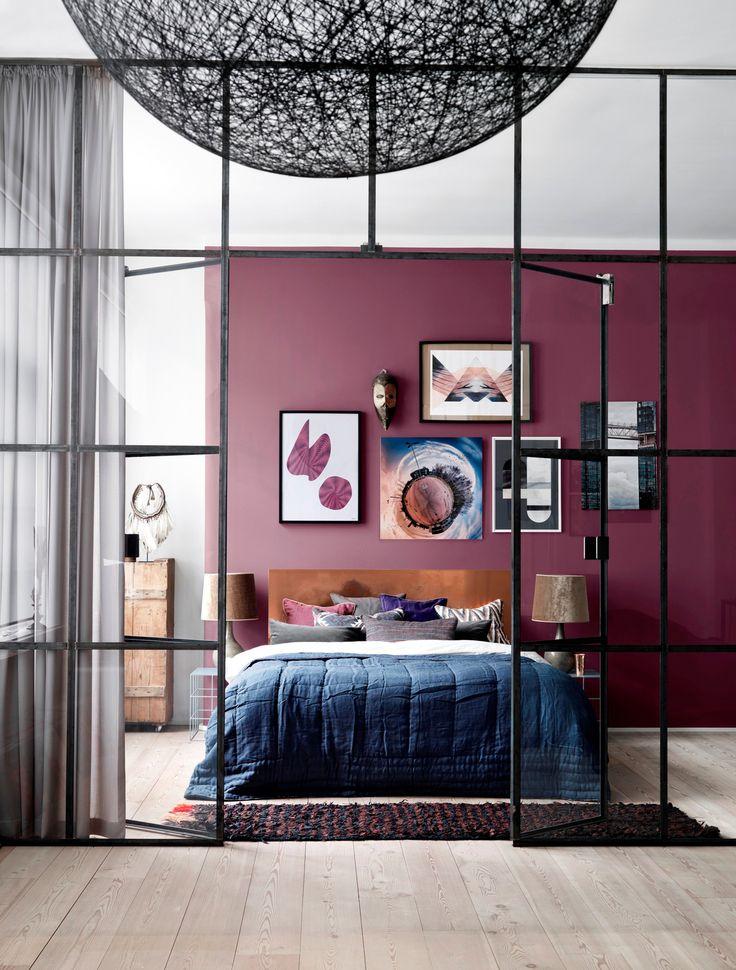"Fargen ""Asian Violet"" er fra Flügger. www.flugger.no"