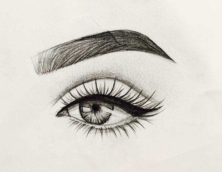 магазинах картинки карандашом губы глаза в глаза леониде слуцком