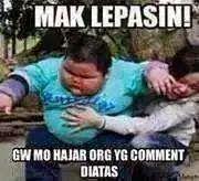 Gambar lucu komen fb