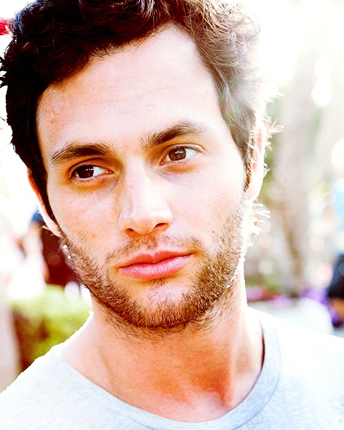 Penn Badgley..what I would do to that bone structure...omg