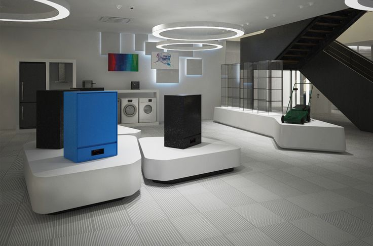 Bosch | Showroom | Κoropi | iidsk  |  Interior Design & Construction