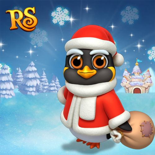 """Santa Penguin, just slip a sable under the tree, for me...""♫♬ #royalstorygame"