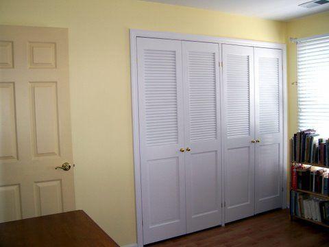 Panel Louver And Flush Doors Hinged Wardrobe Doors