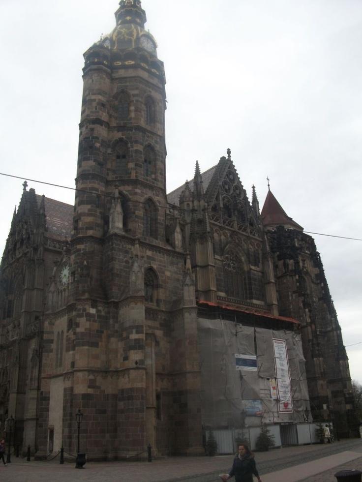 St. Elizabeth Cathedral, Kosice, Slovakia  http://www.centraleasteurope.com